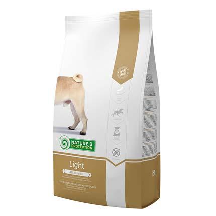 Упаковка сухого корма Nature's Protection Light (Натур Протекшн Лайт) 4 кг для собак с ожирением и после стерилизации
