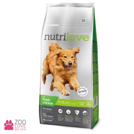 Nutrilove Mature 7+ сухой корм для взрослых собак