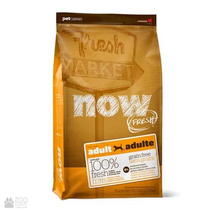 Now Fresh Adult Grain Free, Фото упаковки корма для собак