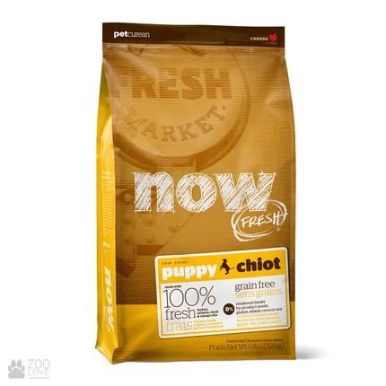 Now Fresh Puppy Grain Free, Фото упаковки корма для щенков