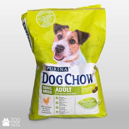 Фото корма для щенков малых пород Purina Dog Chow Adult Small Breed, упаковка 7,5 кг