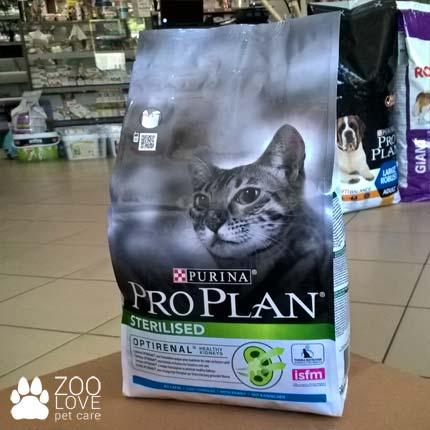 Фото упаковки корма для кастрированных котов Purina Pro Plan Sterilised Rabbit 1.5 кг с мясом кролика