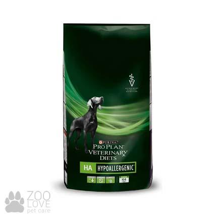 Фото сухого диетического корма для собак Pro Plan PVD HA. Пищевые аллергии, 3 кг.