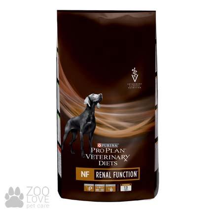 Фото упаковки сухого диетического корма для собак Pro Plan PVD NF. Патологии почек, 3 кг.