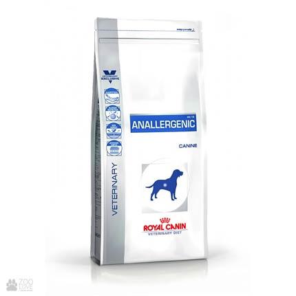 Упаковка сухого корма для собак лечебного Royal Canin Anallergenic