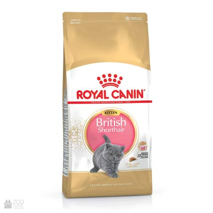 Изображение упаковки корма Royal Canin BRITISH SHORTHAIR KITTEN