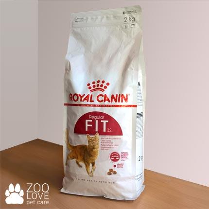 Фото упаковки сухого корма для котов Royal Canin FIT 2 кг (2018 год)
