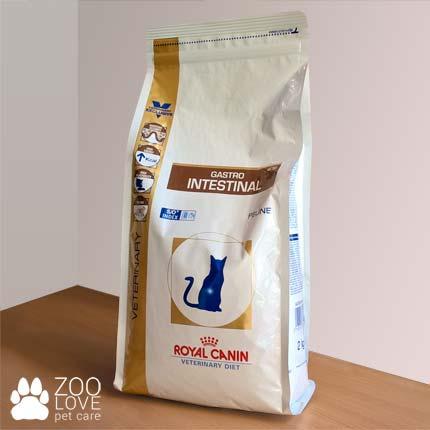 Упаковка корма сухго для кошек Royal Canin GASTRO INTESTINAL, 2 кг