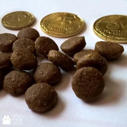 Диаметр и размер гранул корма сухого для кошек Royal Canin Hair & Skin Care