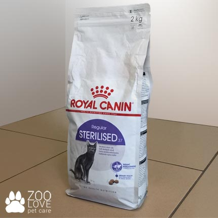Упаковка корма Royal Canin Sterilised