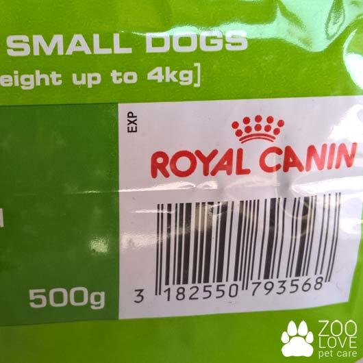 Страна-производитель корма Royal Canin X-SMALL JUNIOR