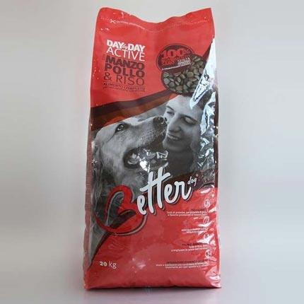 Упаковка корма для взрослых собак Better Active 20 кг