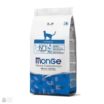 Упаковка корма Monge Urinary для стерилизованных кошек, 1,5 кг