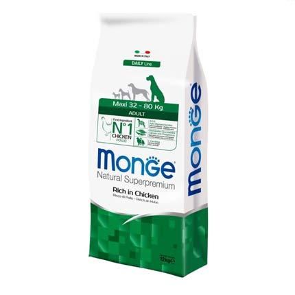 Корм для собак крупных пород Monge Maxi Adult