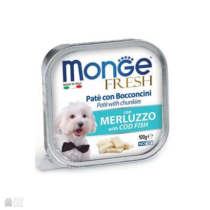 Консервы для собак с треской Monge Fresh Cod Fish