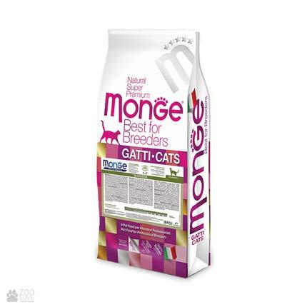 корм для кошек с чувствительным пищеварением Monge Sensitive (Монж Сенситив)
