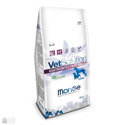 Ветеринарный корм для взрослых собак Monge VetSolution Gastrointestinal Adult