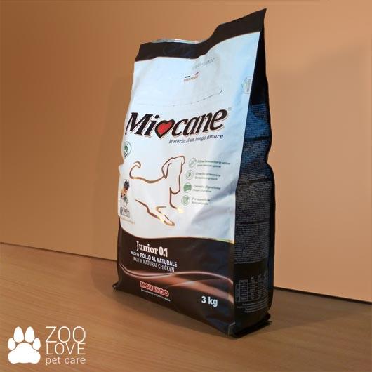 Упаковка корма Morando Miocane для щенков, 3 кг