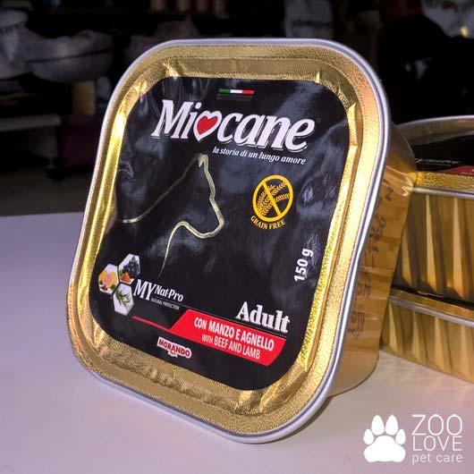Фото консервы Морандо Миокане с говядиной и ягнятиной, 150 г