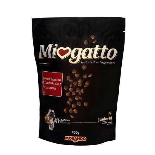 Фото упаковки корма сухого Morando Miogatto для котят 0.1 с птицей, 400 г