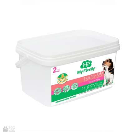 сухой корм для щенков с индейкой My Family Babydog Puppy Turkey, 2 кг