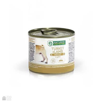 Консервы для собак Нейчерс Протекшн с индейкой и ягненком Nature's Protection Adult Light Turkey & Lamb