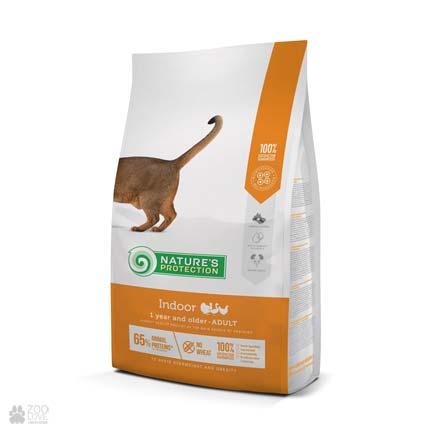 Cухой корм для кошек Nature's Protection Indoor, 2 кг (новый дизайн)