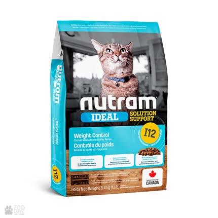 корм для котов для контроля веса Nutram Ideal Solution Support Weight Control Cat (дизайн с 2020 года)