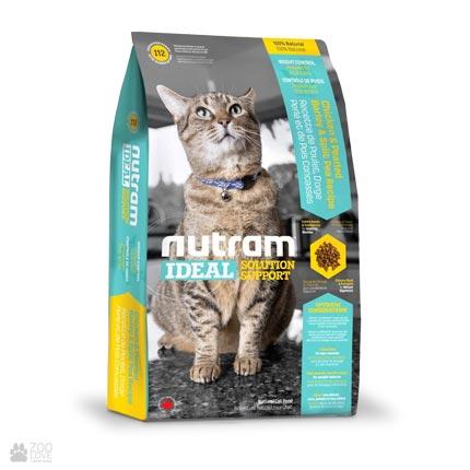 корм для котов для контроля веса Nutram Ideal Solution Support Weight Control Cat
