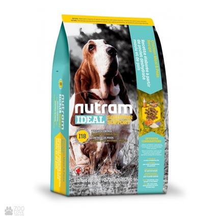 холистик корм для собак, склонных к ожирению I18 Nutram Ideal Solution Support Weight Control