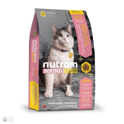 холистик корм для котов Nutram Sound Balanced Wellness Adult & Senior Cat