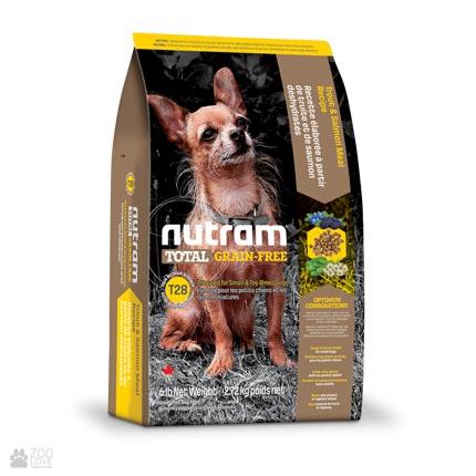 беззлаковый корм для собак малых пород с лососем и форелью Nutram Total GF MINI Salmon & Trout