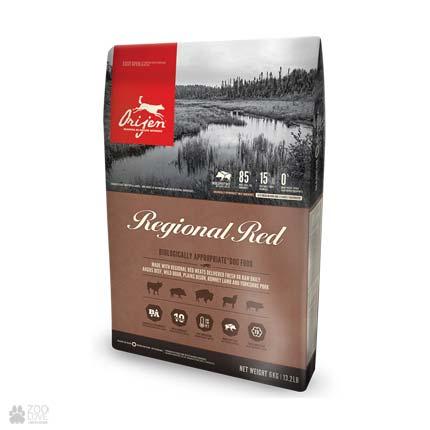 Сухой корм для собак Orijen Regional Red
