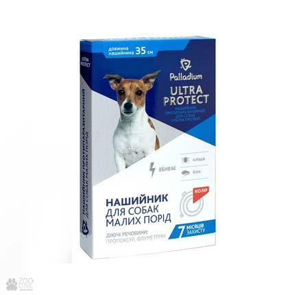 ошейник от блох и клещей для собак малых пород Palladium Ultra Protect