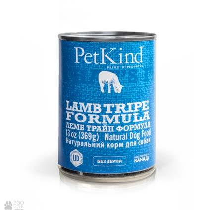 консервы для собак с ягненком и рубцом PetKind Beef Lamb Formula (ПетКайнд Лемб Трайп)