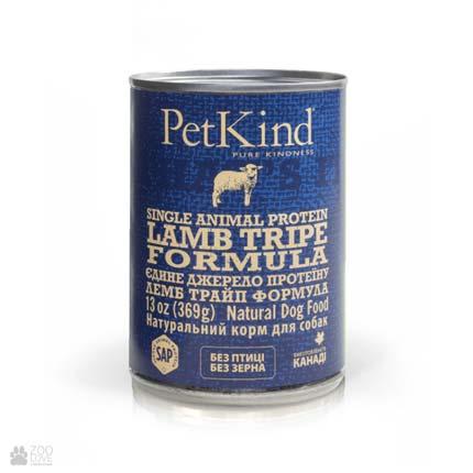 консервы для собак с ягненком и рубцом PetKind Lamb Tripe Formula (ПетКайнд Лемб Трайп)