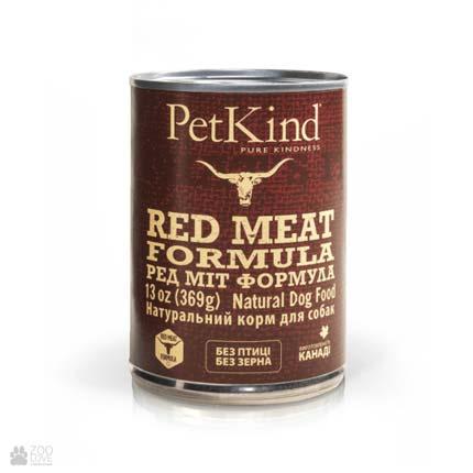 консервы для собак красным мясом PetKind Red Meat Formula (ПетКайнд Ред Мит Формула)