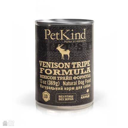 консервы для собак с олениной и рубцом PetKind Venison Tripe Formula (ПетКайнд Венисон Трайп)