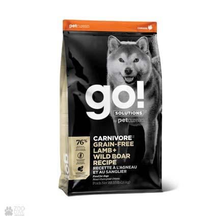 GO! Carnivore Grain Free Lamb + Wild Boar Recipe