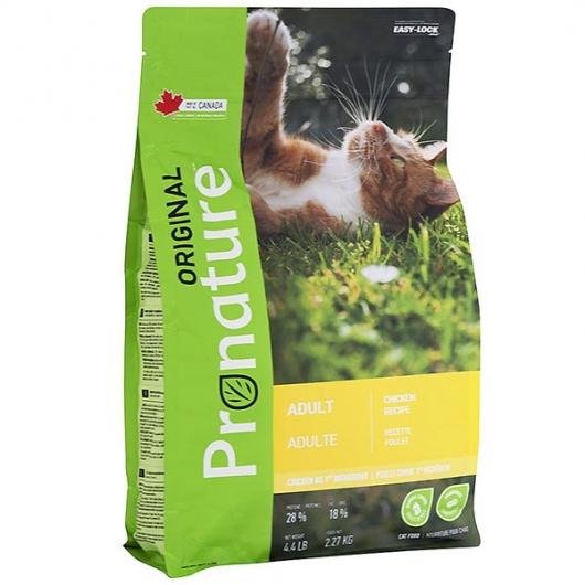 Pronature Original Cat Chicken, корм для взрослых котов