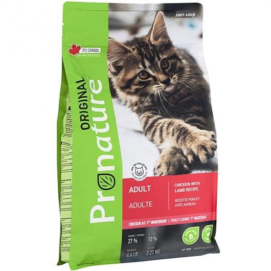Pronature Original Cat Chicken With Lamb, корм для котов