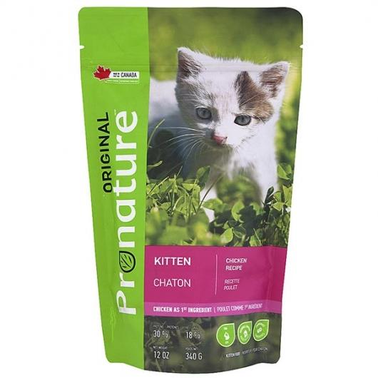Pronature Original Kitten Chicken, корм для котят
