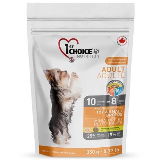 1st Choice Adult Toy&Small Chicken, корм для собак мини и малых пород