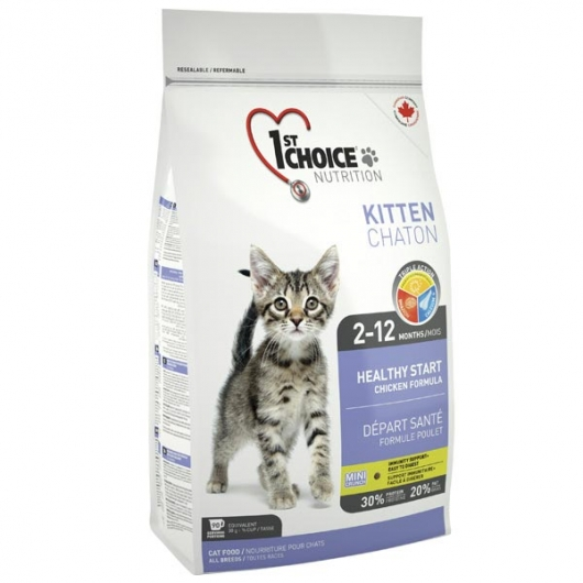 1st Choice Kitten Healthy Start, корм для котят