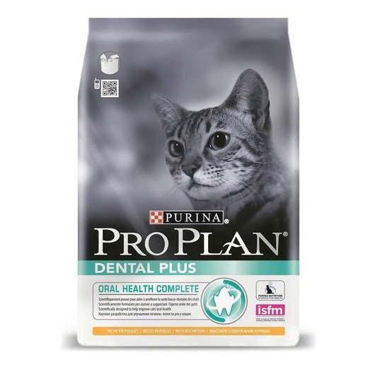 Корм ProPlan DENTAL PLUS для котов с лососем, 1,5 кг.