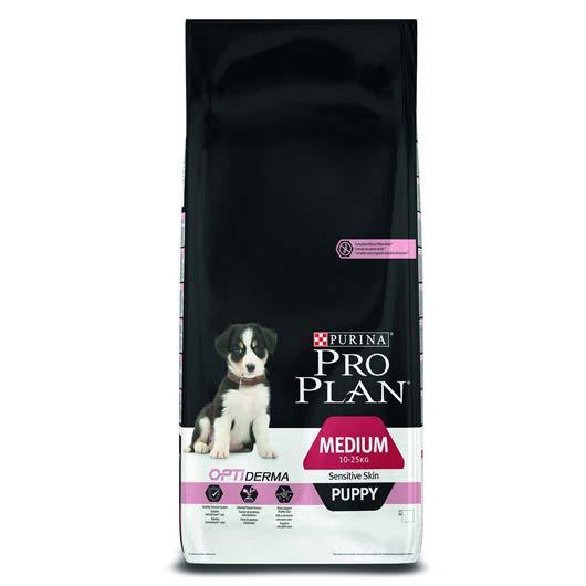 ProPlan Puppy Medium Sensitive для щенков средних пород склонных до аллергии, с лососем, 1,2