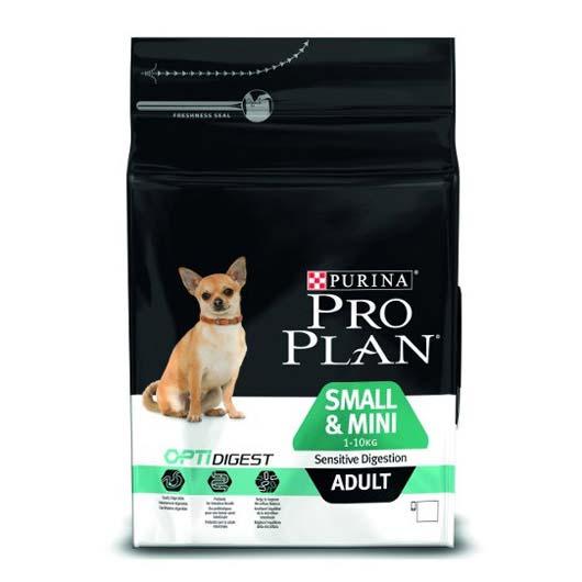 ProPlan Small&Mini Sens.digestion для собак малых пород с чувствительным пищеварением с курицей, 7