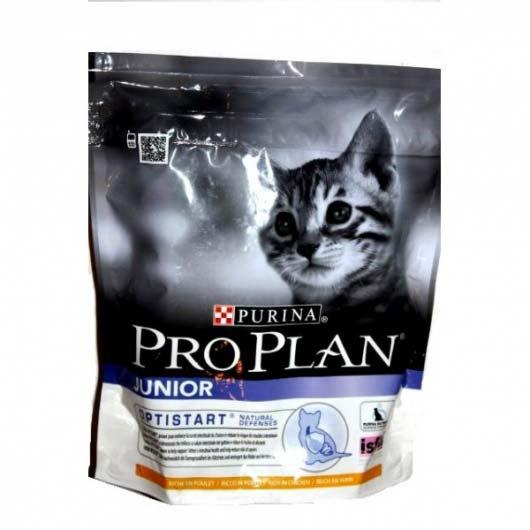 Упаковка корма Pro Plan Kitten для котят с курицей, 400 г.