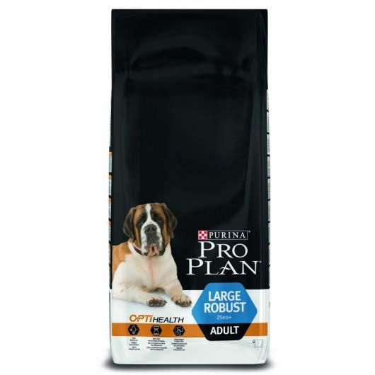Фото упаковки корма Purina Pro Plan Large Robust для собак больших пород с курицей, 14 кг (2016 год)
