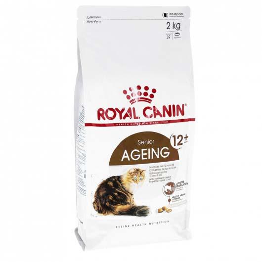 Фото упаковки корма Royal Canin AGEING +12